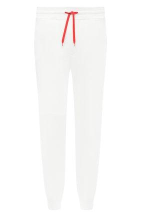 Мужской хлопковые джоггеры HUGO белого цвета, арт. 50432341 | Фото 1