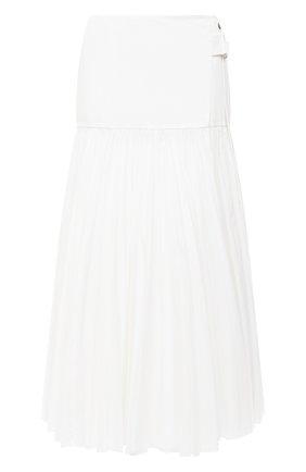 Женская юбка LACOSTE белого цвета, арт. JF1458 | Фото 1
