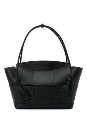 Женская сумка-шопер arco 48 BOTTEGA VENETA черного цвета, арт. 598244/VA981 | Фото 1