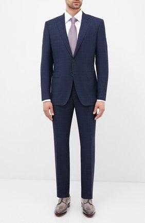 Мужской шерстяной костюм CANALI синего цвета, арт. 19220/93/BR02785 | Фото 1