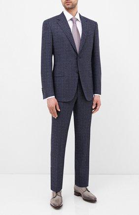 Мужской шерстяной костюм CANALI синего цвета, арт. 11280/19/BF02777 | Фото 1