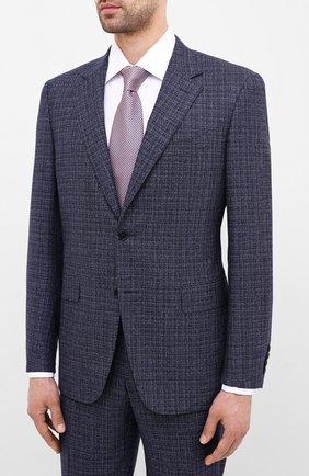 Мужской шерстяной костюм CANALI синего цвета, арт. 11280/19/BF02777 | Фото 2