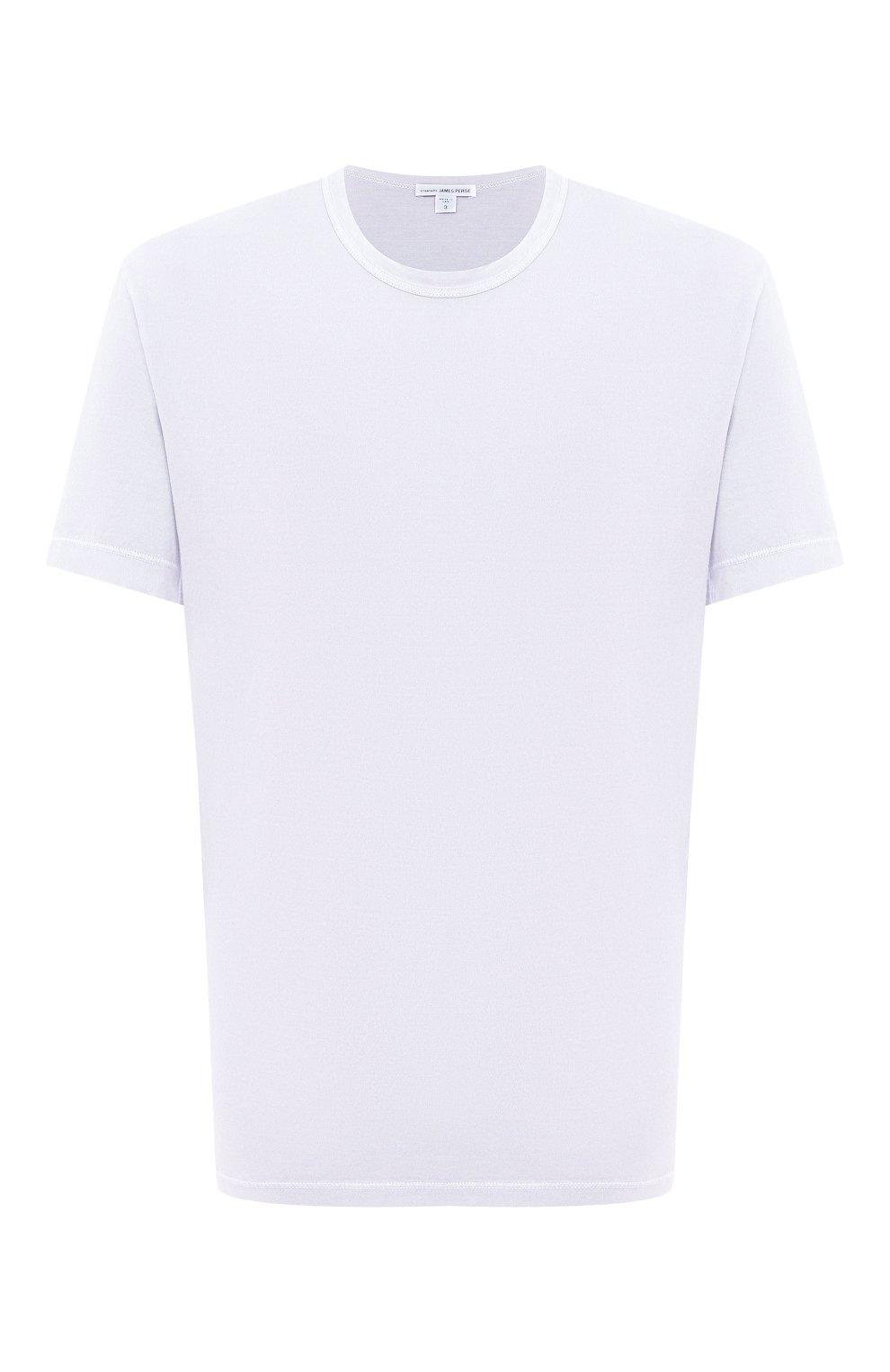 Мужская хлопковая футболка JAMES PERSE голубого цвета, арт. MLJ3311 | Фото 1