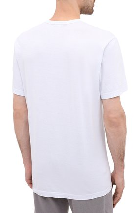 Мужская хлопковая футболка JAMES PERSE голубого цвета, арт. MLJ3311 | Фото 4