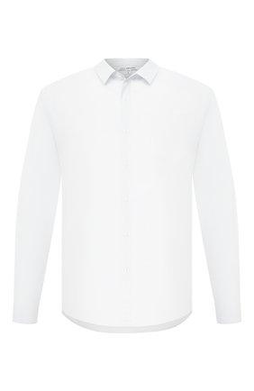 Мужская хлопковая рубашка JAMES PERSE белого цвета, арт. MC0E3374 | Фото 1