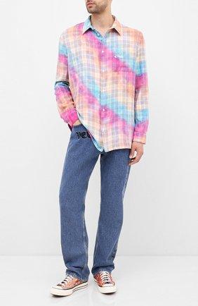 Мужские текстильные кеды chuck 70 CONVERSE разноцветного цвета, арт. 167762 | Фото 2