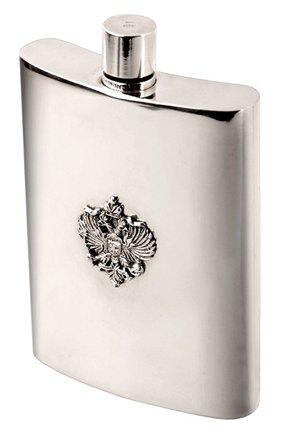 Мужского фляжка для виски  FABERGE серебряного цвета, арт. 193510   Фото 1