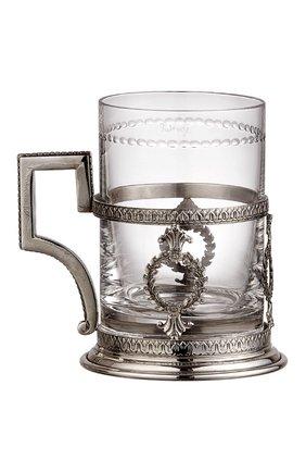Мужской подстаканник faberge из серебра FABERGE серебряного цвета, арт. 395750   Фото 1