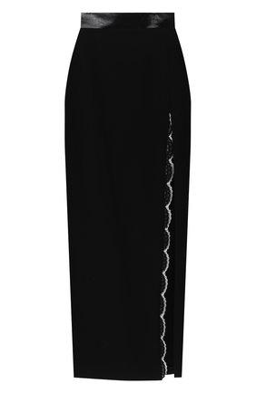 Женская юбка ULYANA SERGEENKO черного цвета, арт. GNM003SS20P (0003р20) | Фото 1