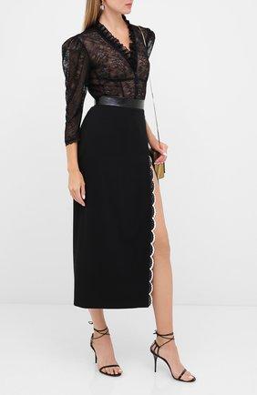 Женская юбка ULYANA SERGEENKO черного цвета, арт. GNM003SS20P (0003р20) | Фото 2