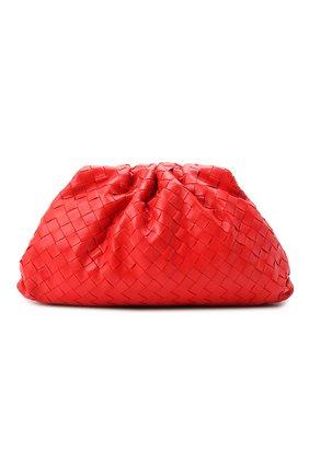 Женский клатч pouch BOTTEGA VENETA красного цвета, арт. 576175/VCPP0 | Фото 1