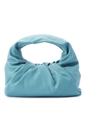 Женская сумка shoulder pouch BOTTEGA VENETA голубого цвета, арт. 610524/VCP40 | Фото 1