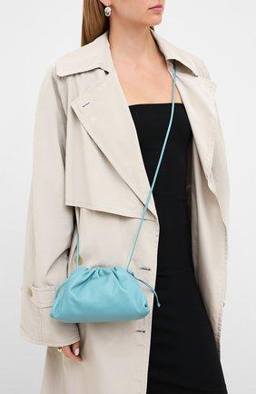 Женский клатч pouch 20 BOTTEGA VENETA голубого цвета, арт. 585852/VCP40 | Фото 2