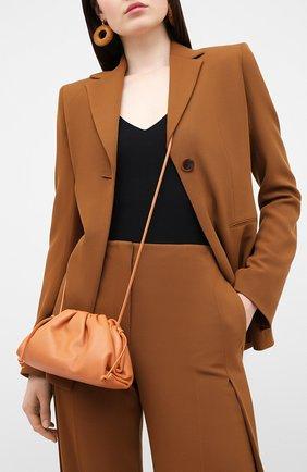 Женский клатч pouch 20 BOTTEGA VENETA бежевого цвета, арт. 585852/VCP40 | Фото 2