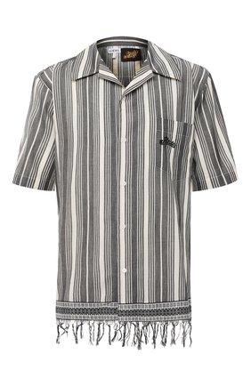 Хлопковая рубашка Loewe x Paula's Ibiza | Фото №1