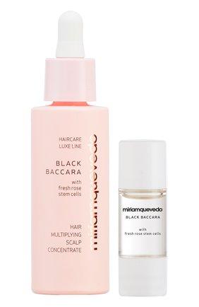 Женский подготовительный набор для кожи головы с экстрактом розы black baccara MIRIAMQUEVEDO бесцветного цвета, арт. 746   Фото 1