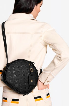 Женская сумка boite chapeau souple mm LOUIS VUITTON черного цвета, арт. M45167 | Фото 2
