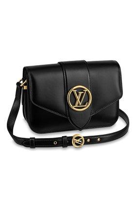 Женская сумка lv pont 9 LOUIS VUITTON черного цвета, арт. M55948 | Фото 1