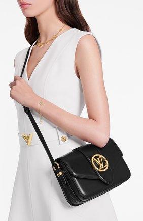 Женская сумка lv pont 9 LOUIS VUITTON черного цвета, арт. M55948 | Фото 2