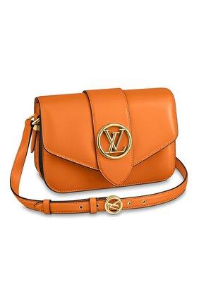Женская сумка lv pont 9 LOUIS VUITTON оранжевого цвета, арт. M55946 | Фото 1