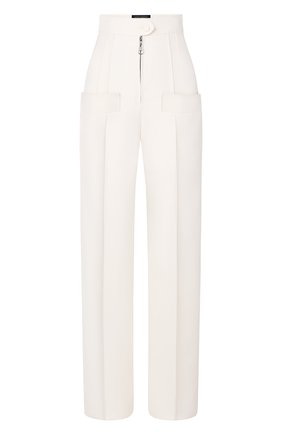 Женские брюки из шерсти и шелка LOUIS VUITTON бежевого цвета, арт. 1A7UX4 | Фото 1