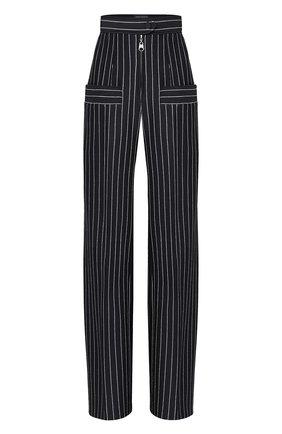 Женские брюки из шерсти и кашемира LOUIS VUITTON черного цвета, арт. 1A7SBY | Фото 1