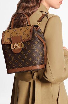 Женский рюкзак dauphine pm LOUIS VUITTON коричневого цвета, арт. M45142 | Фото 2