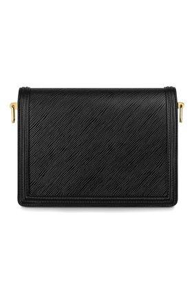 Женская сумка dauphine mm LOUIS VUITTON черного цвета, арт. M56141 | Фото 2