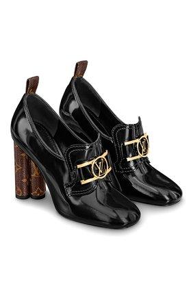 Женская кожаные туфли swift LOUIS VUITTON черного цвета, арт. 1A7U6J | Фото 1