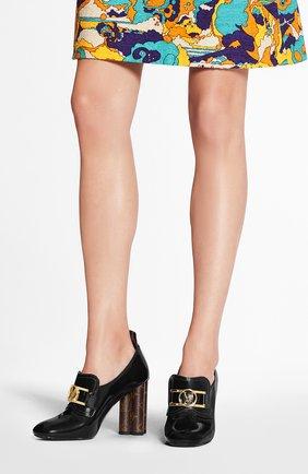 Женская кожаные туфли swift LOUIS VUITTON черного цвета, арт. 1A7U6J | Фото 2