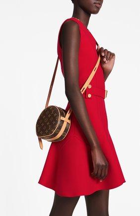 Женская сумка boite chapeau souple pm LOUIS VUITTON коричневого цвета, арт. M45149 | Фото 2