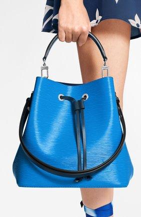 Женская сумка neonoe mm LOUIS VUITTON синего цвета, арт. M55935 | Фото 2
