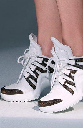 Женские кроссовки lv archlight  LOUIS VUITTON белого цвета, арт. 1A43L1 | Фото 2