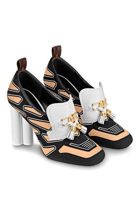 Женская текстильные туфли swift  LOUIS VUITTON черного цвета, арт. 1A7TYY | Фото 1