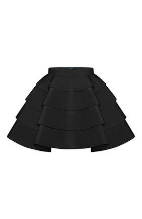 Женская юбка-шорты LOUIS VUITTON черного цвета, арт. 1A7SMA | Фото 1