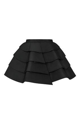 Женская юбка-шорты LOUIS VUITTON черного цвета, арт. 1A7SMA | Фото 2