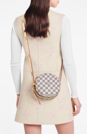 Женская сумка boite chapeau souple pm LOUIS VUITTON бежевого цвета, арт. N40333 | Фото 2