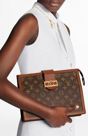 Женский клатч dauphine LOUIS VUITTON коричневого цвета, арт. M69184 | Фото 2