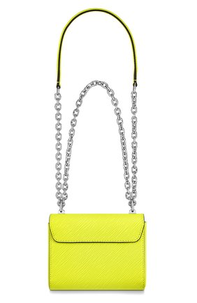 Женская сумка twist mini LOUIS VUITTON желтого цвета, арт. M56119 | Фото 2