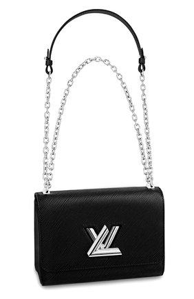 Женская сумка twist mini LOUIS VUITTON черного цвета, арт. M50282 | Фото 1