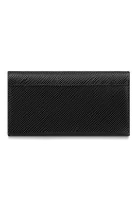 Женские кожаный кошелек twist LOUIS VUITTON черного цвета, арт. M68309 | Фото 2