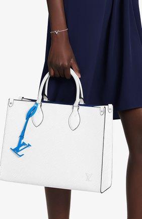 Женская сумка onthego mm LOUIS VUITTON белого цвета, арт. M56081 | Фото 2