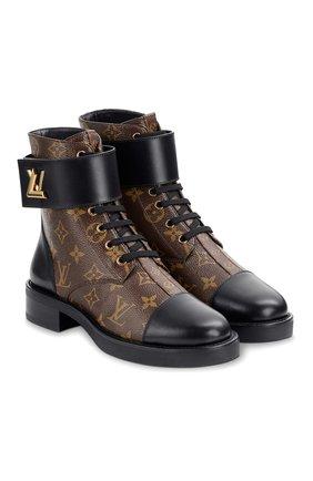 Женские ботинки wonderland LOUIS VUITTON коричневого цвета, арт. 1A2Q3Q | Фото 1