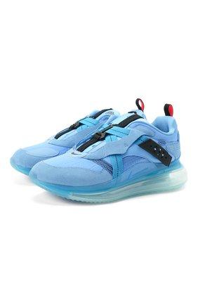 Мужские кроссовки nike air max 720 obj NIKELAB синего цвета, арт. DA4155-400 | Фото 1