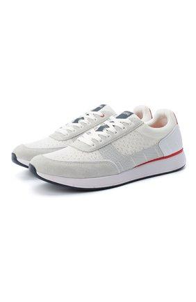 Мужские комбинированные кроссовки SWIMS белого цвета, арт. 21317 | Фото 1