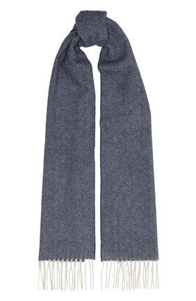 Мужской шерстяной шарф ETON синего цвета, арт. A000 30132 | Фото 1