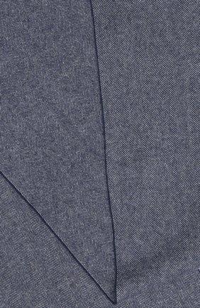 Мужской шерстяной шарф ETON синего цвета, арт. A000 30132 | Фото 2
