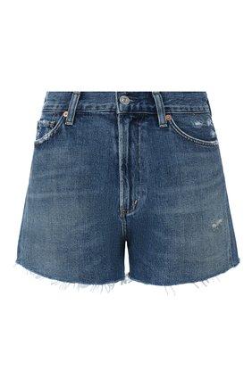 Женские джинсовые шорты CITIZENS OF HUMANITY синего цвета, арт. 993-991 | Фото 1
