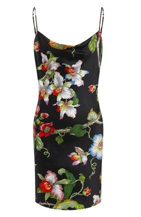 Женская шелковая сорочка OLIVIA VON HALLE разноцветного цвета, арт. SS2063 | Фото 1