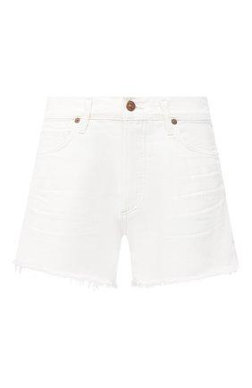 Женские джинсовые шорты CITIZENS OF HUMANITY белого цвета, арт. 996-1185 | Фото 1